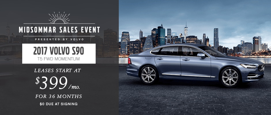 2017 Volvo S90 T5 AWD Momentum Lease in NYC