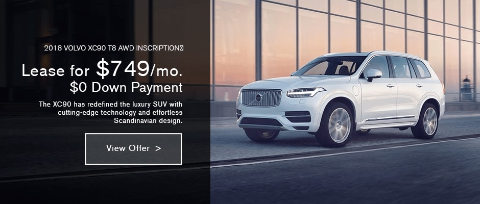 2017 VOLVO XC90 Lease in NYC