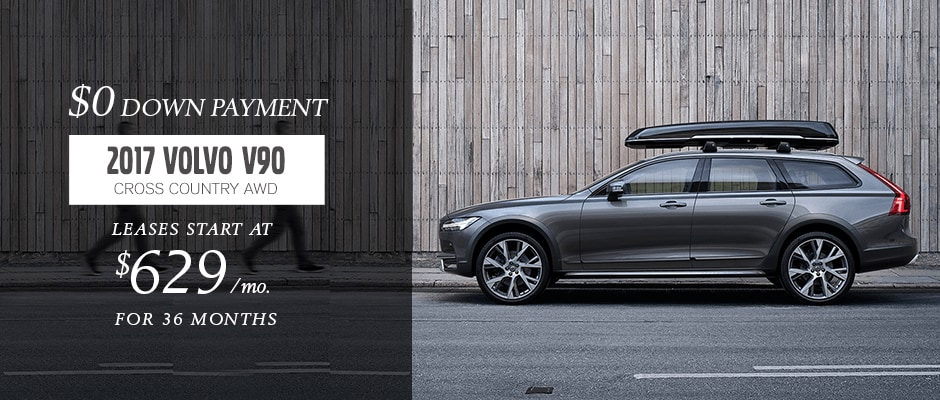 2017 VOLVO V90 Cross Country Lease in NYC