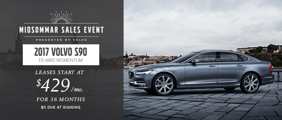 2017 Volvo S90 T6 AWD Momentum Lease in NYC