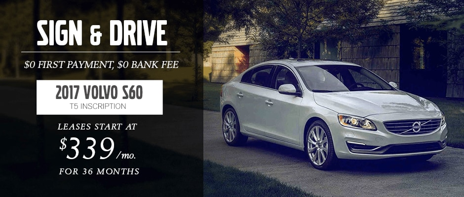 2017 VOLVO S60 lease offer