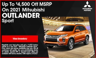 Up To $4,500 Off MSRP