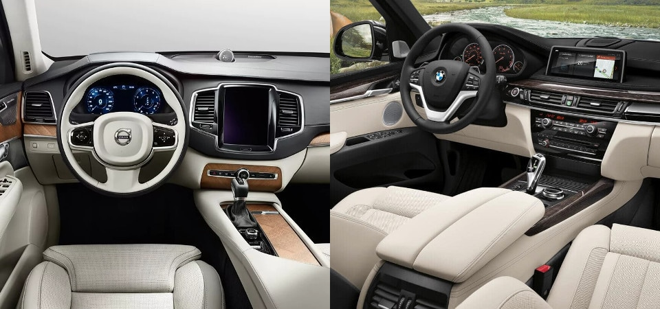 Luxury SUVs: 2018 Volvo XC90 vs. BMW X5 | Near Boston, MA