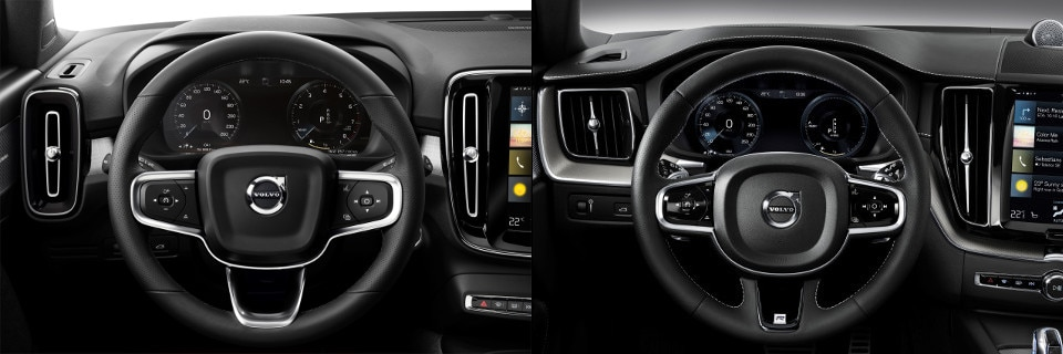 2019 Volvo XC40 and Volvo XC60 Interior Dashboard
