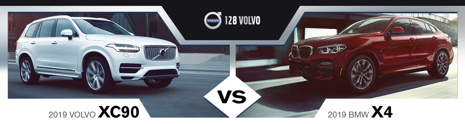 Volvo XC90 vs BMW X4
