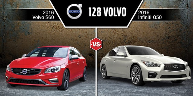 Infiniti Q50 Lease Deals >> 2016 Infiniti Q50 vs Volvo S60 in Wakefield, MA | 128 Volvo