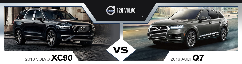 2018 Volvo XC90 vs. 2018 Audi Q7 | Near Boston, MA
