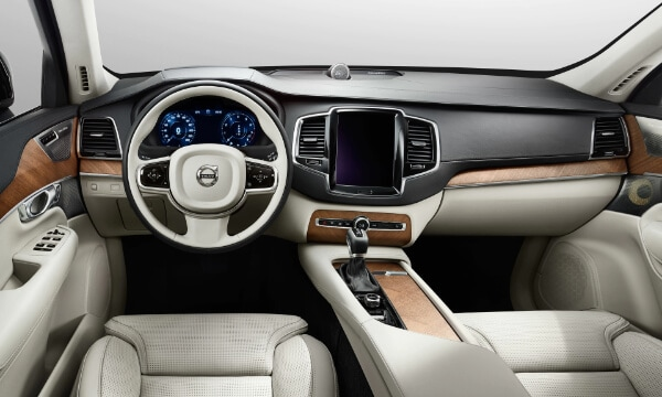Volvo XC90 Interior Design