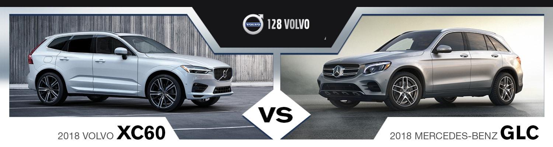 2018 SUVs Comparison: XC60 vs. Mercedes-Benz GLC