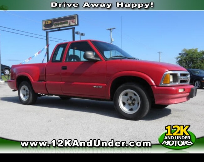 1997 Chevrolet S-10 LS Truck Extended Cab