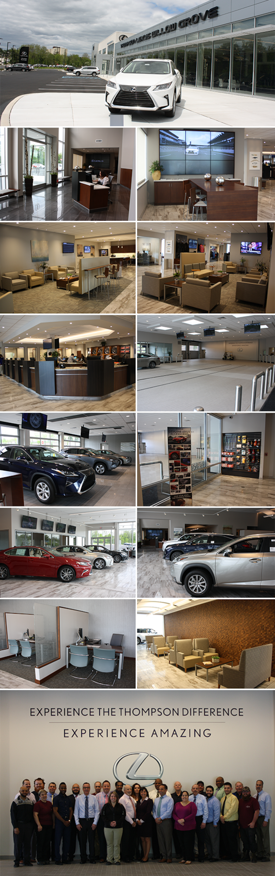 Thompson Lexus Willow Grove >> Thompson Lexus Willow Grove The Thompson Organization