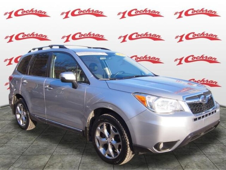 Certified Used 2015 Subaru Forester 2.5i Touring (CVT) SUV Pittsburgh