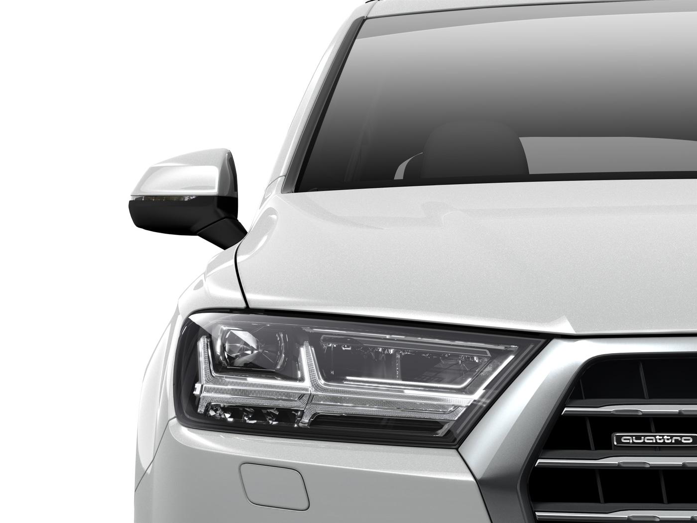 New 2019 Audi Q7 SUV 3 0T Premium Plus Glacier white