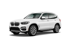 New 2019 BMW X3 sDrive30i SUV in Los Angeles