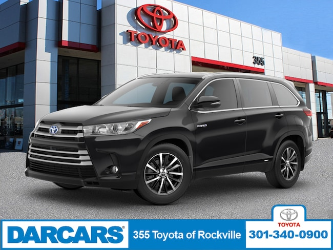 New 2019 Toyota Highlander Hybrid XLE V6 SUV in Rockville, Maryland