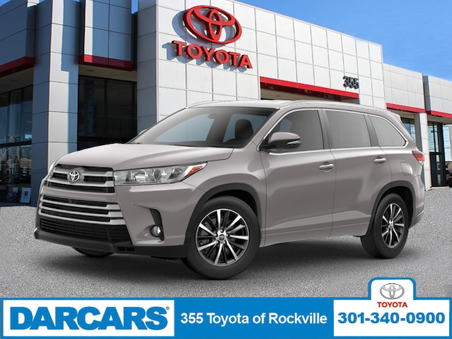New 2019 Toyota Highlander XLE V6 SUV in Rockville, Maryland