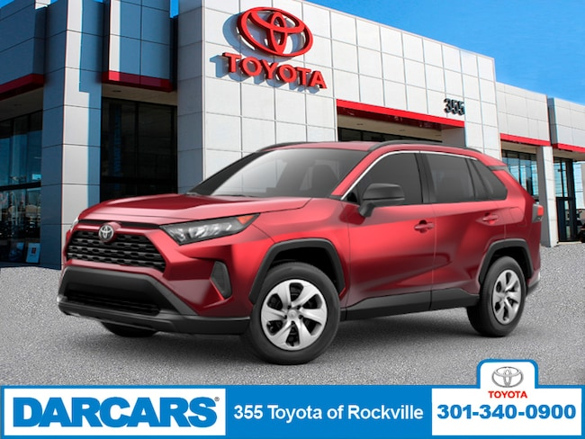 New 2019 Toyota RAV4 LE SUV in Rockville, Maryland