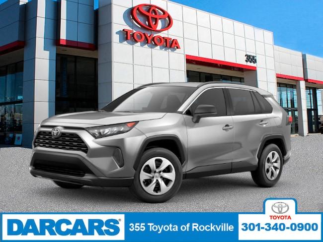 New 2019 Toyota RAV4 LE SUV in Rockville, Maryland