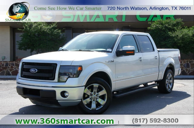 2014 Ford F-150 FX2, Navigation, Sunroof, Sync, Tonneau Cover Truck SuperCrew Cab