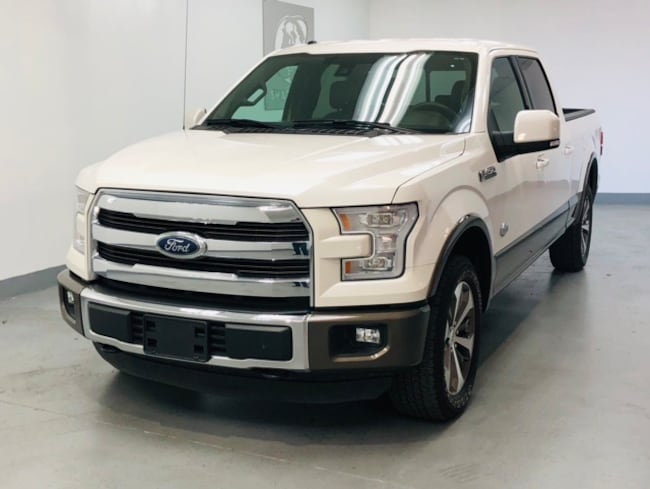 2015 Ford F-150 King Ranch Luxury Pkg, FX4 Pkg, Power Boards Truck SuperCrew Cab