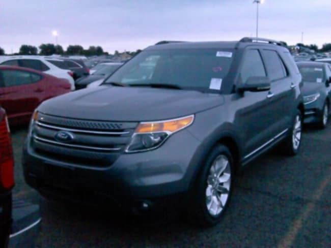 2012 Ford Explorer Limited Navigation, Sunroof, Clean Carfax SUV