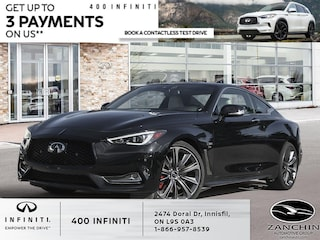 2021 INFINITI Q60 3.0T Red Sport 400 I-Line Coupe
