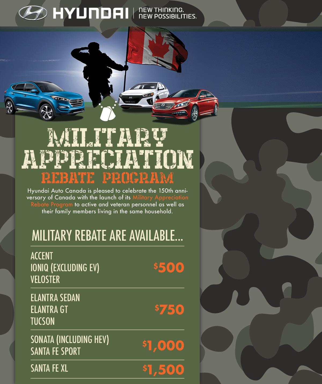 Grande Prairie Hyundai >> Military Program Grande Prairie Hyundai