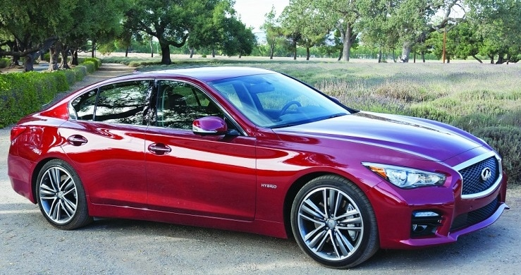 Test Fest Best New Luxury Car Over 50 000: 2014 INFINITI Q50 Hybrid Wins The 2014 AJAC Best Luxury