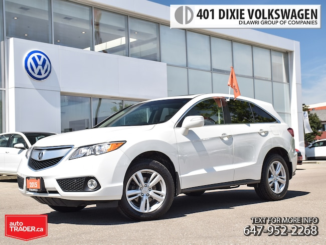 2015 Acura RDX Tech at No Accidents/ Power Sunroof/ Leather/ Nav/ Crossover