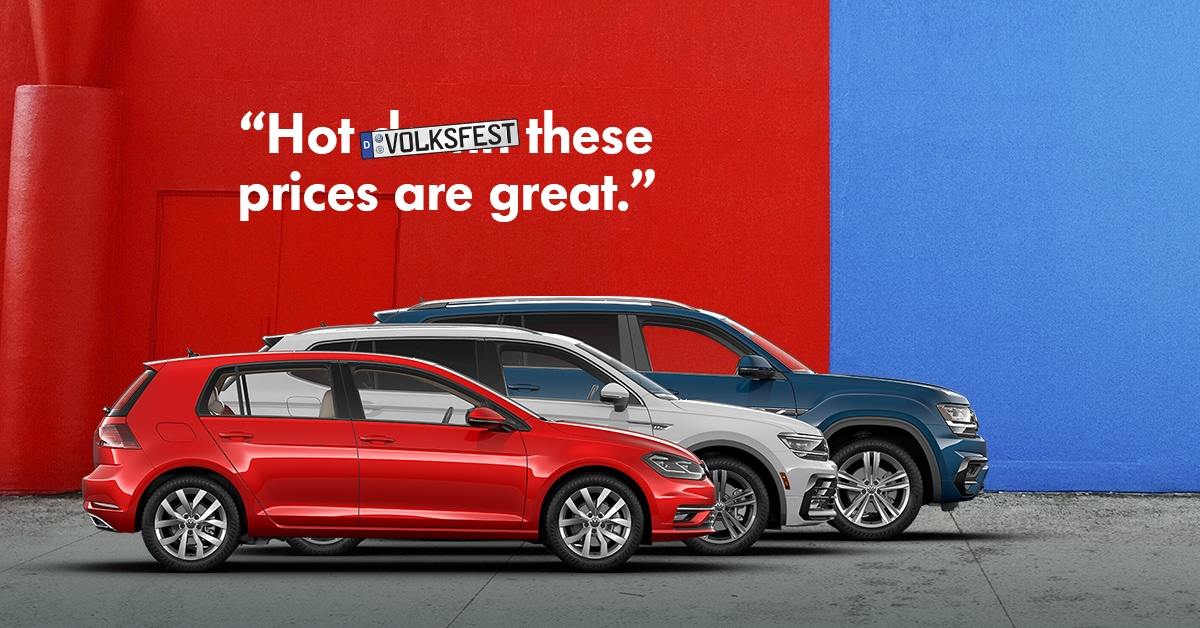 401 Dixie Volkswagen >> New Vehicle Specials | Barrie Volkswagen