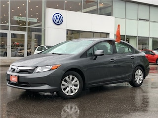 2012 Honda Civic Sedan LX at 2 Sets OF Tires/ Traded/LOW KMS !! 4-Door Sedan