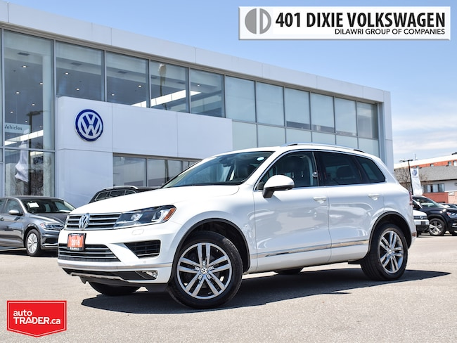 2016 Volkswagen Touareg Highline 3.6L 8sp at w/Tip 4M OFF Lease/NO Acciden SUV