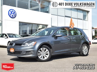 2015 Volkswagen Golf 5-Dr 1.8T Comfortline at Tip OFF Lease /LOW KM/Bac 5-Door Hatchback