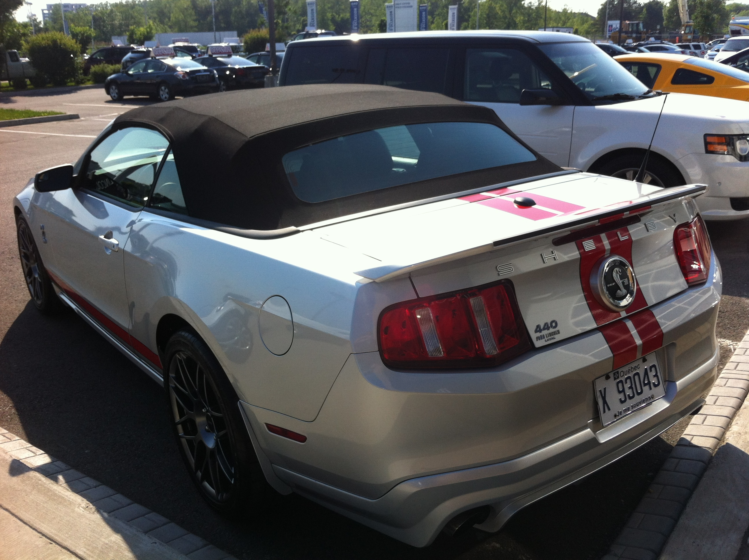 2011 mustang shelby gt 500 for sell 440 ford lincoln laval. Black Bedroom Furniture Sets. Home Design Ideas