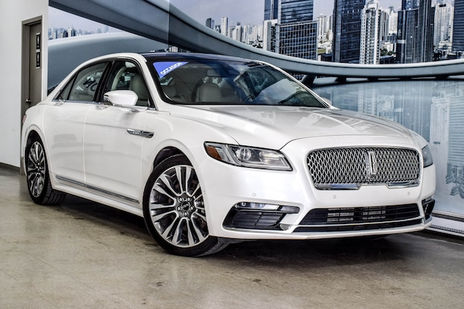 2017 Lincoln Continental RESERVE | 2.7L ECOBOOST AWD CUIR TOIT PANO NAV Sedan