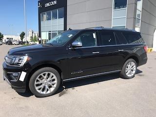 2019 Ford Expedition Max Platinum SUV 3.5L Premium Unleaded Agate Black