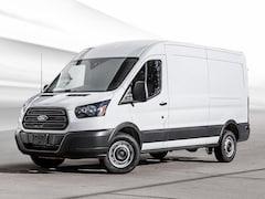 2019 Ford Transit-250 Base w/Sliding Pass-Side Cargo Door Van Medium Roof Cargo Van 3.7L Gaseous Fuel Compatible Oxford White