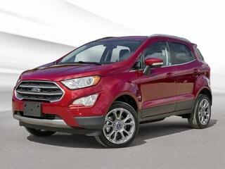 2018 Ford EcoSport Titanium SUV 2.0L Regular Unleaded Ruby Red Tinted