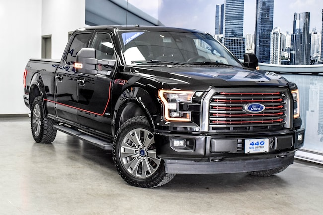 2017 Ford F-150 LARIAT | 3.5L ECOBOOST EDITION SPECIAL 4X4 Truck 3.5L Gas Black