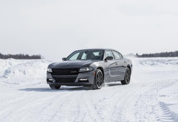 2018 Dodge Charger GT AWD Front Gray Exterior