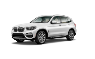 New 2019 BMW X3 sDrive30i SUV in Seaside, CA