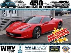 2012 Ferrari 458 Italia 2012 FERRARI 458 OVER $50, 000 IN OPTIONS WITH F1 Coupe
