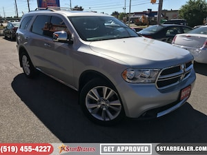 2012 Dodge Durango Crew Plus | AWD | LEATHER | ROOF | DVD | NAV