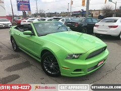2014 Ford Mustang V6 Premium | LEATHER | V6 | SAT RADIO Convertible