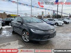 2015 Chrysler 200 S | LEATHER | POWER SEATS Sedan