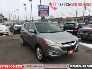 2012 Hyundai Tucson Limited   AWD   PANO ROOF   LEATHER