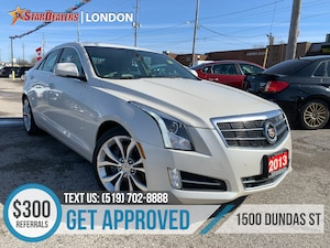 2013 CADILLAC ATS 2.0L Turbo Perf| NAV | LEATHER | ROOF | CAM
