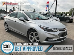 2018 Chevrolet Cruze Premier | LEATHER | CAM | ONE OWNER Sedan