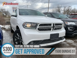 2018 Dodge Durango GT | 1OWNER | 4X4 | LEATHER | ROOF | CAM