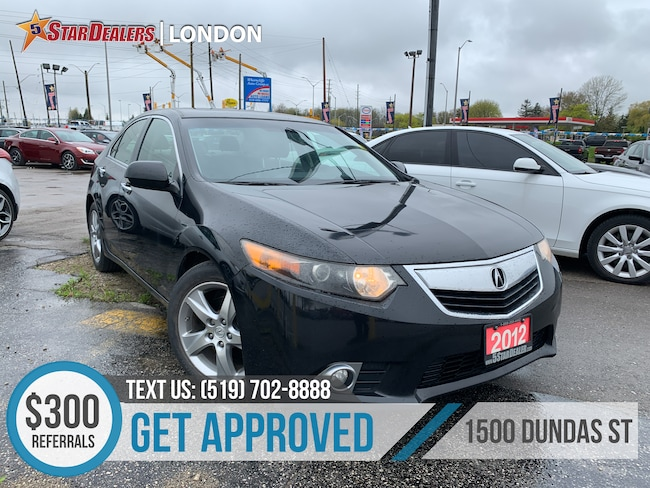 2012 Acura TSX Premium | LEATHER | ROOF | HEATED SEATS Sedan